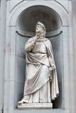 Statue of Francesco Petrarca Royalty Free Stock Image