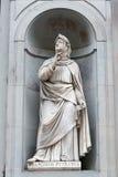 Statue of Francesco Petrarca Royalty Free Stock Image
