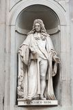 Statue of Francesco Redi Stock Photo