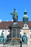 Statue of Francis II - Vienna Royalty Free Stock Photos