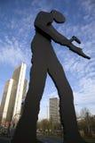 Statue in Frankfurt Stock Image