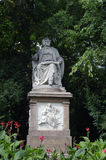 Statue of Franz Schubert Stock Photos