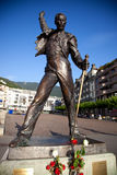 Statue of Freddie Mercury. In Montreux Switzerland royalty free stock photos
