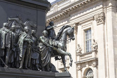 Statue of Frederick the Great Royalty Free Stock Image