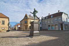 Statue of Frederick II. Stock Photography