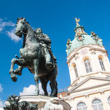 Statue of Frederick William in Berlin Stock Images