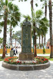 Statue Frederico Villareal Park Royalty Free Stock Photos