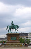 Statue of Frederik VII of Denmark in Copenhagen Royalty Free Stock Photos