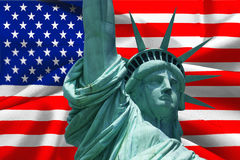 Statue of the freedom Stock Image