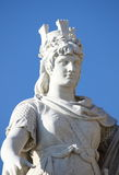 Statue of Freedom in San Marino Republic Royalty Free Stock Image