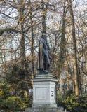 Statue of Friedrich von SChiller at the Maximiliansplatz in Muni Stock Photos