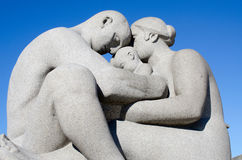 Statue at Frogner Park Oslo Norway Stock Photo