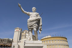 A statue in front of Caesars Palace hotel in Las Vegas. Stock Photography