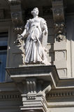 Statue in front of Graz city hall Royalty Free Stock Photos
