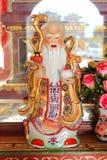 Statue Fu Lu Sho God Stockbild