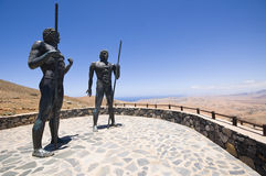 Statue in Fuertaventura Stock Photography