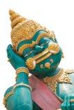 Statue géante chez Wat Kok Mai Daeng, Phitsanulok, isola de la Thaïlande Images libres de droits