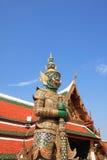 Statue géante dans le temple Photos libres de droits