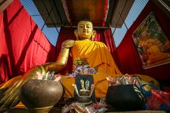 Statue géante de Bouddha photographie stock