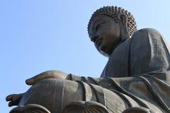 Statue géante de Bouddha Image libre de droits