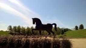 Statue géante de cheval Image libre de droits