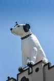 Statue géante de chien image libre de droits