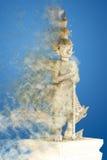 Statue géante de gardien Photographie stock