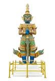Statue géante de gardien en Wat Phra Kaew Grand Palace Bangkok Photographie stock libre de droits