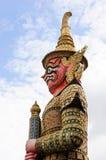 Statue géante rouge Image libre de droits
