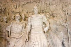 Statue Of G. K. Skanderbeg, Kruja Royalty Free Stock Photo