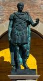 Statue of Gaius Julius Caesar in Rimini Royalty Free Stock Photos