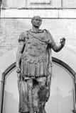 Statue of Gaius Julius Caesar Stock Photo
