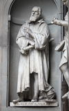 Statue of Galileo Galilei Stock Photos