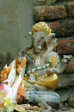 Statue of Ganesh. At a temple in Ayutthaya, Thailand Royalty Free Stock Photo