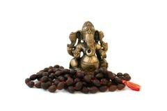 Statue of Ganesha. Bronze Statue of God Ganesha Stock Image