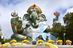 Statue of ganesha. In chumphon, Thailand Royalty Free Stock Image