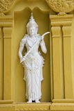 Statue at Gangaramaya Buddhist Temple Royalty Free Stock Photos