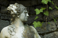 Statue in the garden Stock Photography