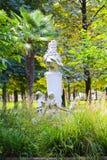 Statue in Garden - Athens, Greece. Statue in Green Garden - Athens, Greece Royalty Free Stock Photography
