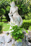 Statue in Garden - Athens, Greece. Statue in Green Garden - Athens, Greece Royalty Free Stock Images