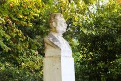 Statue in Garden - Athens, Greece. Statue in Green Garden - Athens, Greece Stock Images