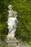Statue in Garden Stock Photo