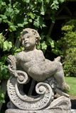 Statue at the garden of Herstmonceux Castle in Herstmonceux, East Sussex, England Royalty Free Stock Photos