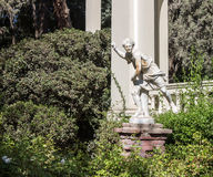 Statue in Garden Santiago do Chile Royalty Free Stock Image