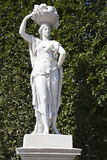 A statue in the garden of the schonbrunn palace Royalty Free Stock Photography