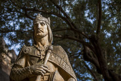 Statue from The Gardens of the Alcazar in Cordoba Royalty Free Stock Photography