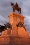 Statue of Garibaldi royalty free stock photo