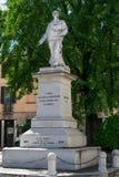 Statue of Garibaldi stock image