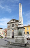 Statue of Garibaldi at Piazza San Francesco, Prato Royalty Free Stock Photo