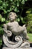 Statue am Garten von Herstmonceux-Schloss in Herstmonceux, Ost-Sussex, England Lizenzfreie Stockfotos